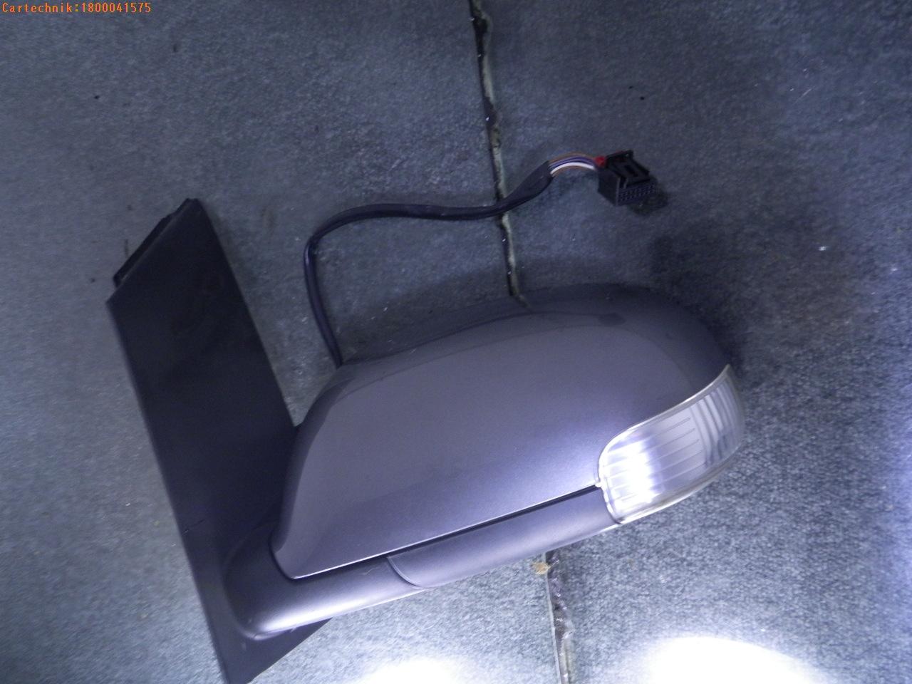 au enspiegel links vw touran 1t bj 2008 03 01 ebay. Black Bedroom Furniture Sets. Home Design Ideas